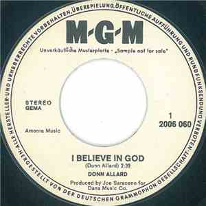 Donn Allard - I Believe In God download free