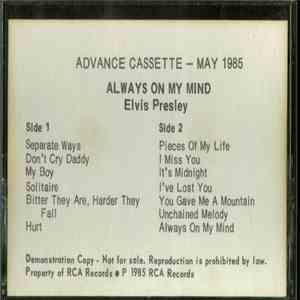 Elvis Presley - Always On My Mind download mp3 flac